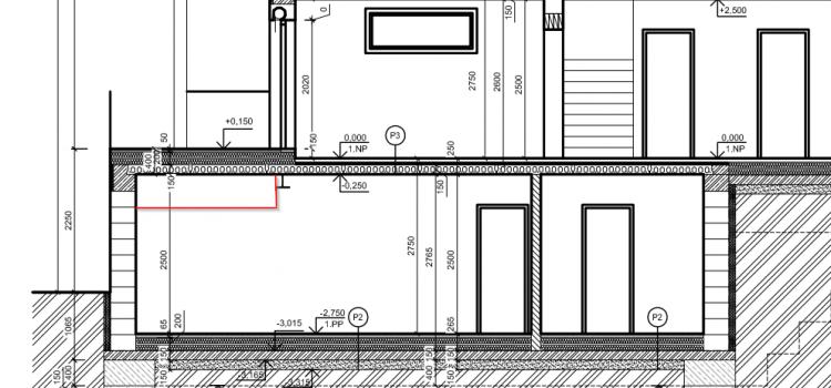 Další dotazy na projektanta (SV stropů, stropní panely, průvlaky, terasa)