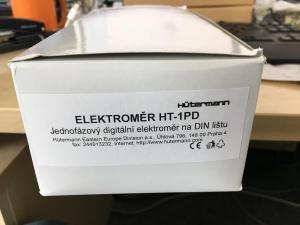 Elektroměry na DIN lištu digitální 1F
