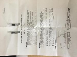Elektroměr na DIN lištu digitální 1F - manuál