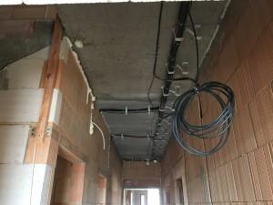 Kabelová trasa - chodba